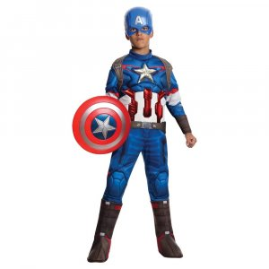 קפטן אמריקה שרירי דלוקס (ללא מגן)
