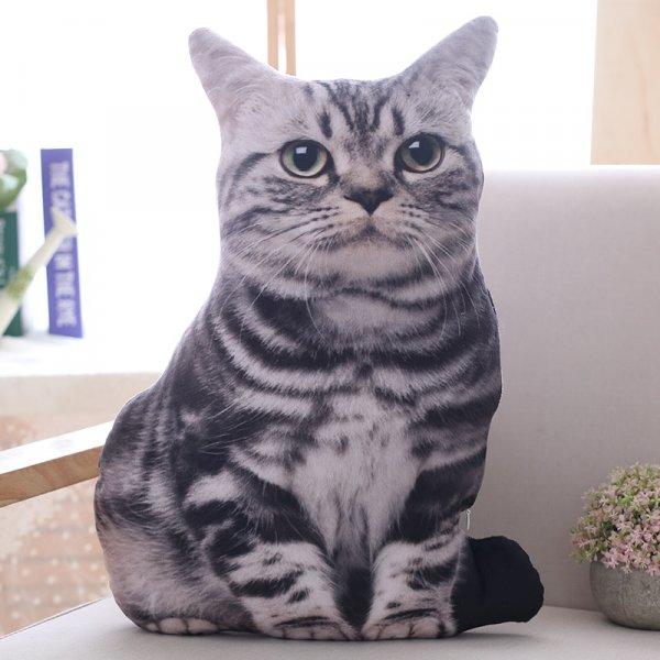 בובת כרית רכה בצורת חתול