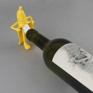 מר בננה לסגירת בקבוקי יין