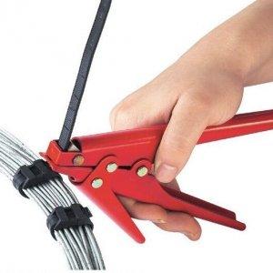 מכשיר להידוק וחיתוך מקצועי של אזיקונים