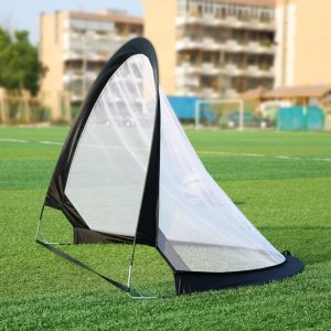 2 שערי משחק ניידים לכדורגל נפתחים בקלות