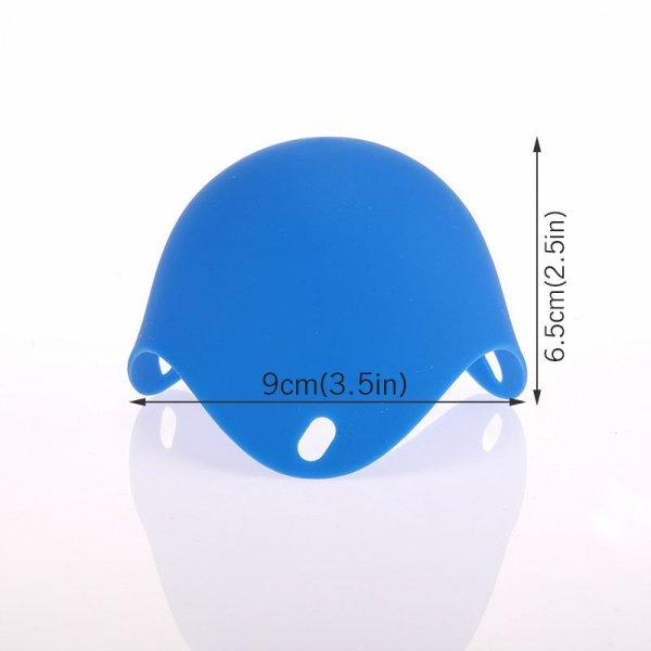2 תבניות סיליקון להכנת חביתות בסיר מים ללא שמן