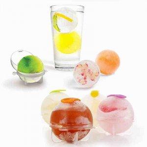 4 מכיני קרח בצורת כדורים