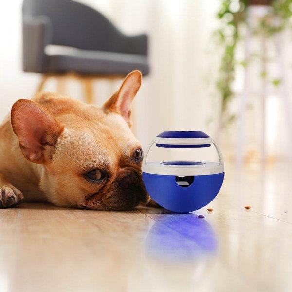 צעצוע לכלבים המתמלא בחטיפים למשחק וזכיה