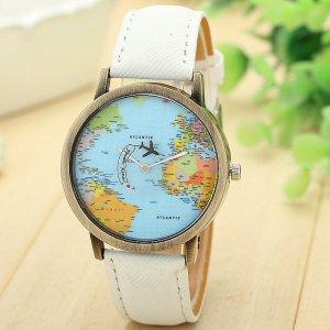 שעון יד בצורת גלובוס