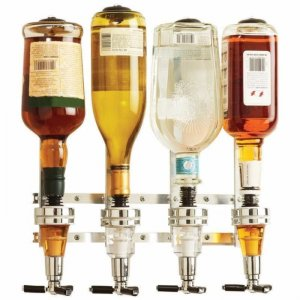 4 ברזים לאחסון ומזיגה קלה של משקאות חריפים