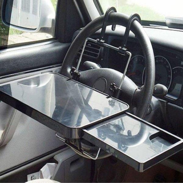 שולחן לפטופ לרכב הנתלה על ההגה