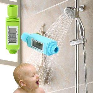 טרמו-מטר דיגיטלי לראש מקלחת