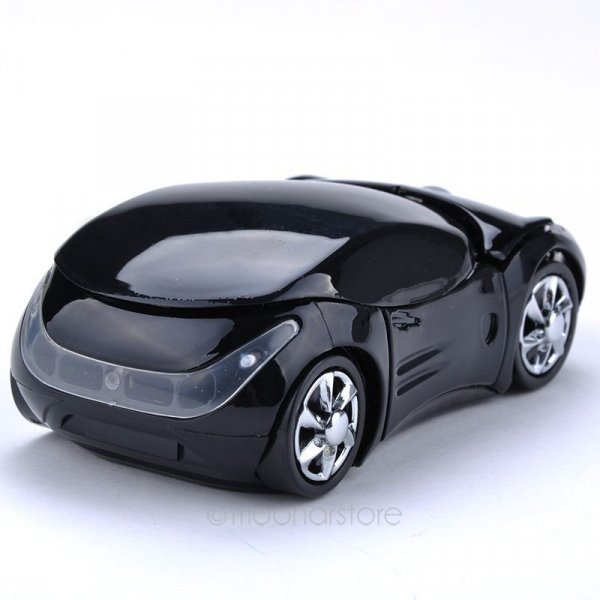 עכבר אלחוטי בצורת מכונית