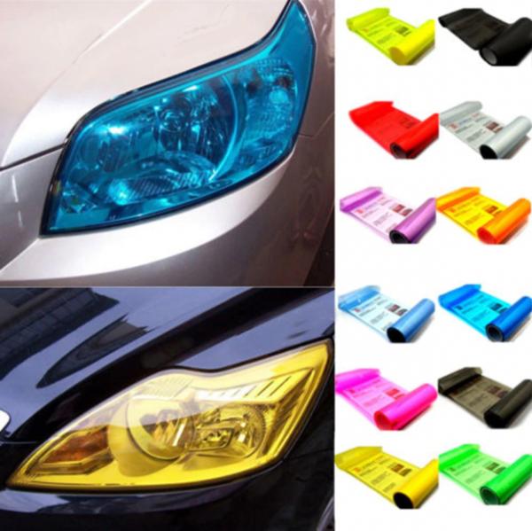 ערכה לשינוי צבע פנסי הרכב בקלות