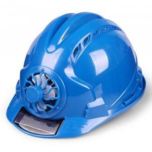 כובע קשיח לעבודה עם מאוורר סולארי