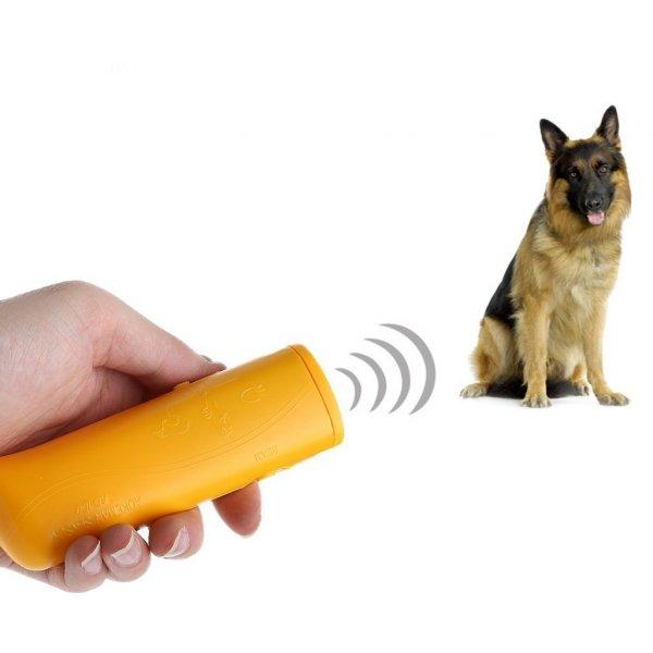 מכשיר למניעת נביחות + מאמן כלבים על קולי