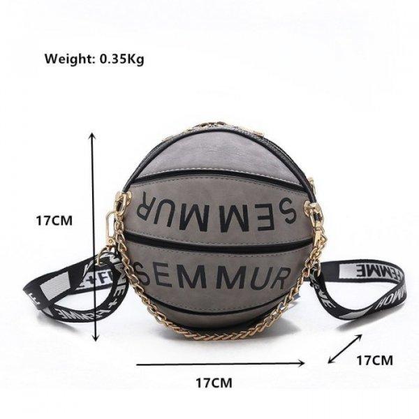 תיק יד לבחורות בצורת כדורסל