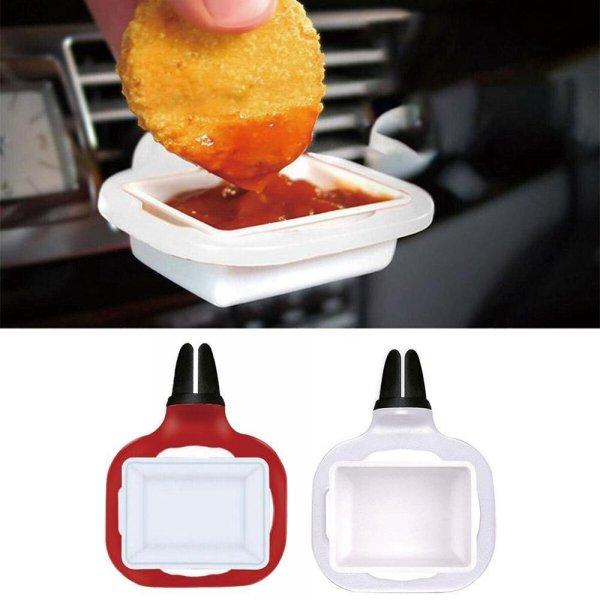 כלי קיבול לאכילת רטבים ברכב בנוחות