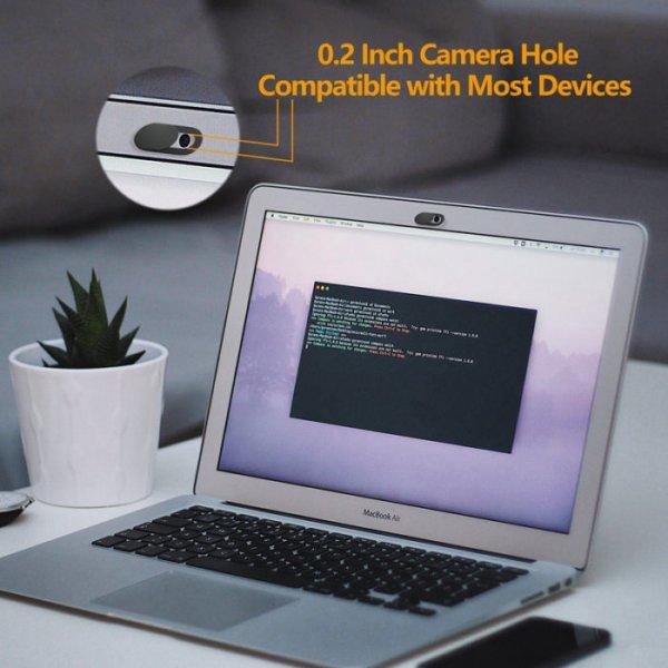 3 כיסויים אוניברסליים למצלמה של הטלפון והמחשב למניעת מעקב וצילום בלתי רצוי