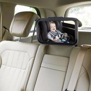 מראה לבדיקת מצב הילד במושב האחורי ברכב