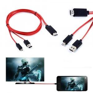 כבל חיבור אנדרואיד למסך HDMI