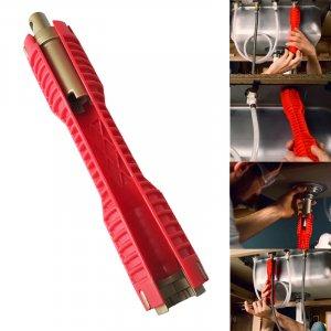 כלי מקצועי לפתיחת וסגירת צינורות בקלות