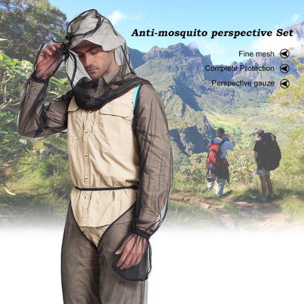 חליפה מלאה נגד עקיצות של יתושים, דבורים ועוד