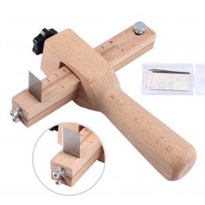 כלי לחיתוך מדויק ומקצועי של רצועות עור