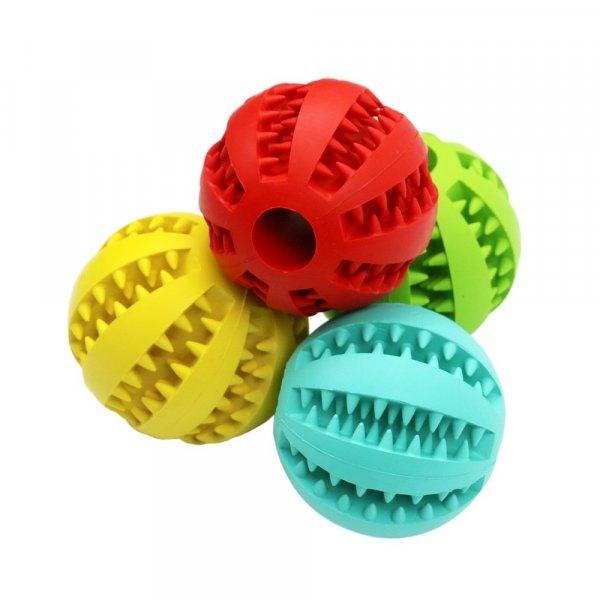 כדור מתמלא באוכל לכלבים לאכילה איטית ובריאה ונקיון שיניים