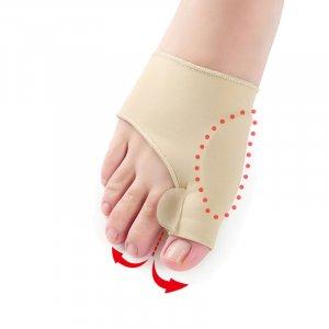 זוג גרביים ליישור עצם בולטת בכף הרגל
