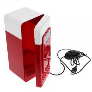 מיני מקרר/מחמם משקאות USB