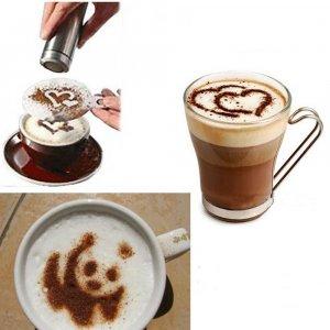 שבלונות בצורות לקפה ואפייה (סט 16 יחידות)
