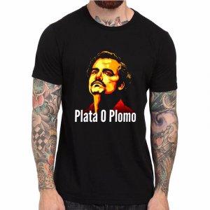 """חולצת נרקוס """"PLATA O PLOMO"""""""