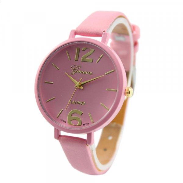 שעון נשים אופנתי דמוי עור במבחר צבעים