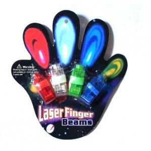 טבעות לייזר לאצבעות (סט 4 יח')