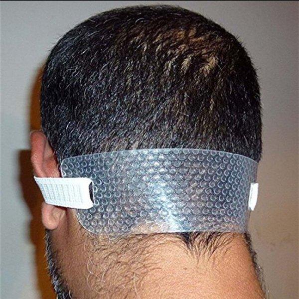 חגורת ראש לחיתוך ישר של שיער העורף