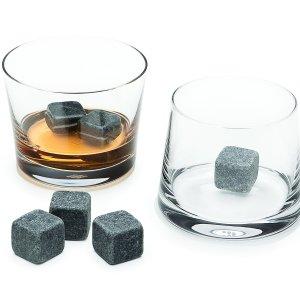 6 יח' אבני וויסקי לקירור משקאות