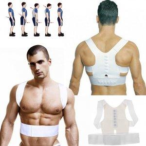 תומך אורטופדי מיישר גב וכתפיים