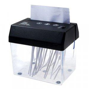 מגרסת ניירות קומפקטית עם פותח מעטפות